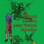 """Coperta ediției tipărite a celui de-al patrulea roman al seriei Andilandi: """"Zborul lui Petru peste Tărâmul Balaurilor"""""""